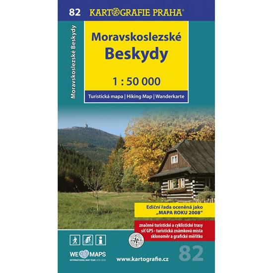 1: 50T (82)-Moravskoslezské Beskydy (turistická mapa) - neuveden