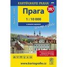 Praha - 1:10 000 (rusky) centrum města do kapsy