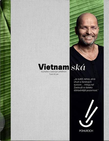 Vietnamská - Kuchařka s rodinným příběhem - Tuan & Lan, Sleva 18%