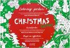 Christmas Factory - Plakát omalovánka