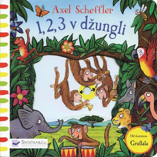 1,2,3 v džungli - Scheffler Axel