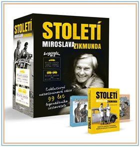 Století Miroslava Zikmunda - dárkový box (3 knihy)