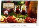 Kalendář stolní 2019  - Putování za vínem, 23,1 x 14,5 cm
