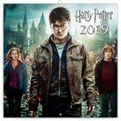 Kalendář poznámkový 2019 - Harry Potter, 30 x 30 cm