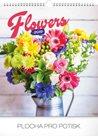 Kalendář nástěnný 2019 - Květiny, 30 x 34 cm