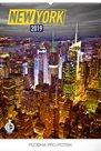 Kalendář nástěnný 2019 - New York, 48 x 64 cm