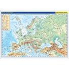 Evropa fyzická / politická mapa 1:17 mil.