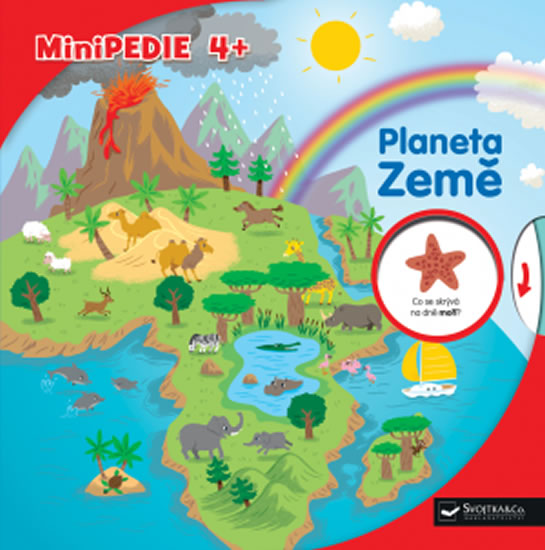 Minipedie 4+ Planeta Země - neuveden, Sleva 50%