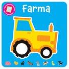 Farma - Leporelová skládanka se zrcátkem