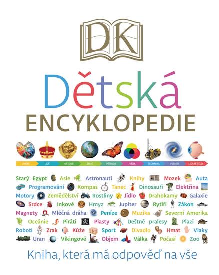 Dětská encyklopedie - Kniha, která má odpověď na vše - Kopička Karel
