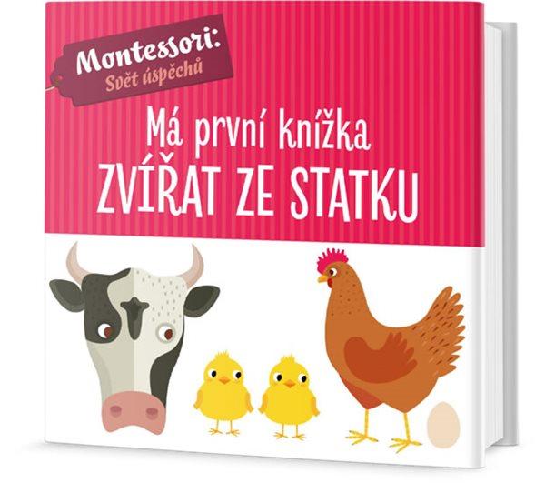Má první knížka zvířat ze statku - Piroddiová Chiara, Baruzziová Agnese,