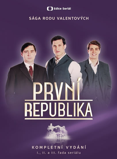 První republika - Komplet 14 DVD - neuveden