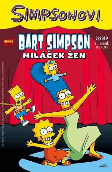 Simpsonovi - Bart Simpson 2/2019 - Miláček žen - kolektiv autorů