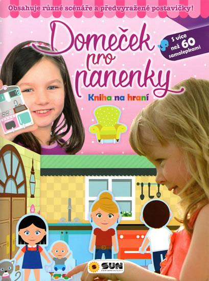 Domeček pro panenky - Kniha na hraní - neuveden