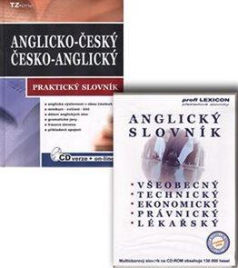 Anglicko-český, česko-anglický slovník + CD