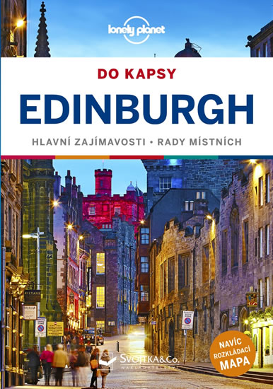 Edinburgh do kapsy - Lonely Planet - Wilson Neil