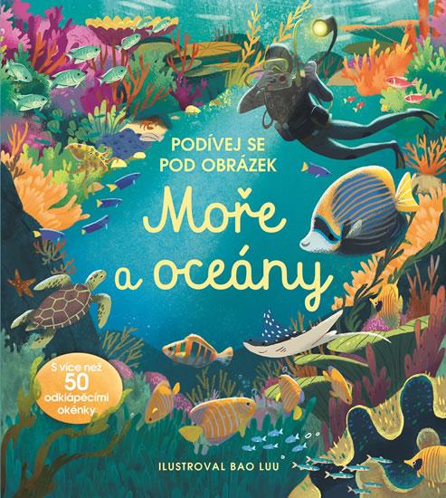 Moře a Oceány - Podívej se pod obrázek - Cullis Megan