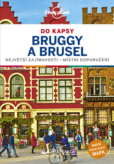 Brusel a Bruggy do kapsy - Lonely Planet - neuveden