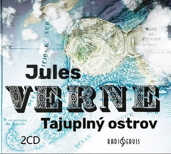 Tajuplný ostrov - 2 CDmp3 - Verne Jules