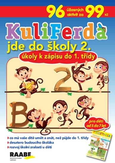 KuliFerda jde do školy 2. - Úkoly k zápisu do 1. třídy - neuveden