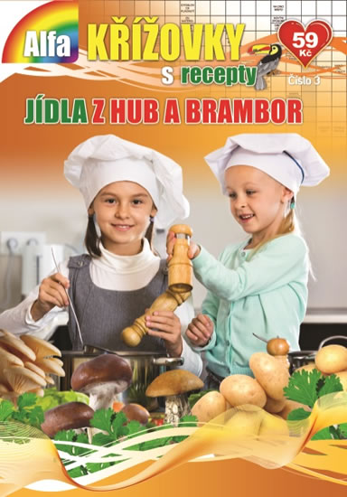Křížovky s recepty 3/2019 - Jídla z hub a brambor - neuveden
