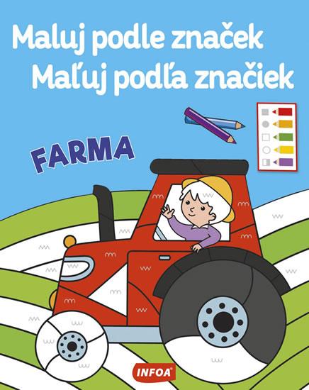 Farma - Maluj podle značek / Maľuj podľa značiek - neuveden