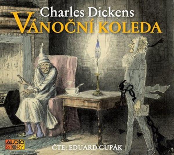 Vánoční koleda - CDmp3 (Čte Eduard Cupák) - Dickens Charles
