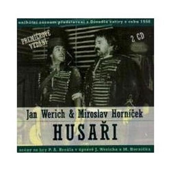Jan Werich, Miroslav Horníček: Husaři 2 CD - Werich Jan, Horníček Miroslav