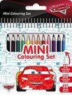 Auta - Mini set s pastelkami
