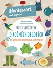 Moje první kniha o ročních obdobích se spoustou úžasných samolepek - Montessori svět úspěchů