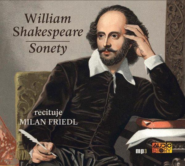 Sonety - CDmp3 (Recituje Milan Friedl) - Shakespeare William