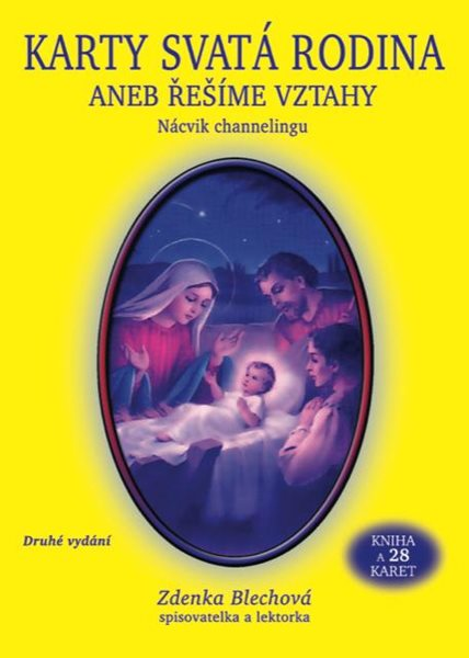 Karty Svatá rodina aneb řešíme vztahy (kniha + 28 karet) - Blechová Zdenka
