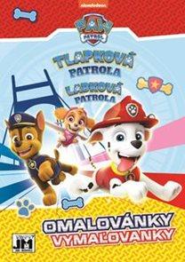 Tlapková patrola - Omalovánka A5+