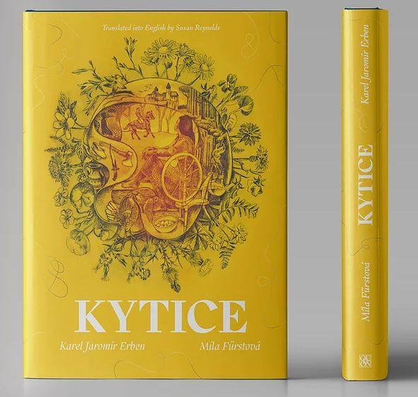 Kytice - luxusní anglické vydání - Erben Karel Jaromír