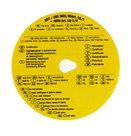 Tachokotoučky - Potvrzení - žlutý kotouč
