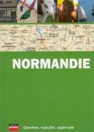 Normandie - průvodce s mapou /Francie/