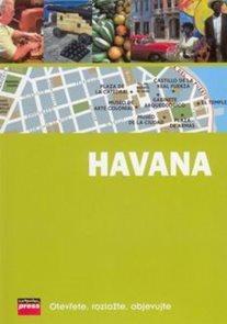 Havana - průvodce s mapou /Kuba/