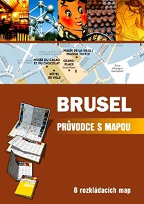 Brusel - mapový průvodce - CPress /Belgie/