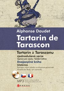 Tartarin de Tarascon / Tartarin z Tarasconu + audio CD /1 ks/