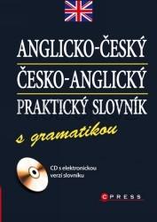 Anglicko-český a česko-anglický praktický slovník s gramatikou - 110x155 mm, vázaná