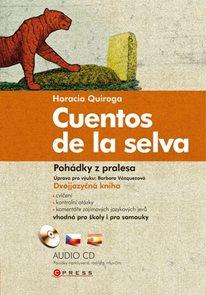 Pohádky z pralesa - Cuentos de la selva + audio CD