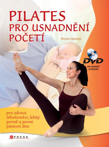 Pilates pro usnadnění početí ( 60minut cvičení na DVD) - Sabongui Renata
