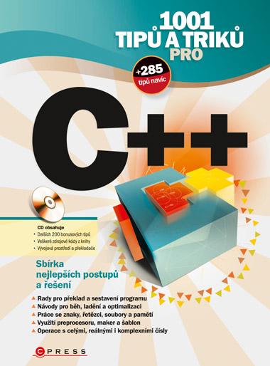 1001 tipů a triků pro C++ + CD-ROM - Virius Miroslav - 167 mm x 225 mm, brožovaná