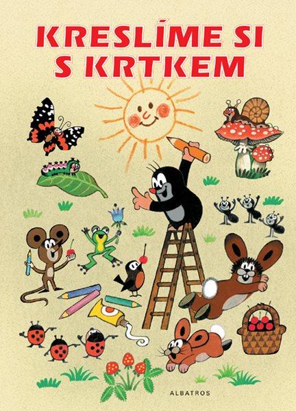 Kreslíme si s krtkem, pracovní sešit pro děti od 3 let - Z. Miller - A4