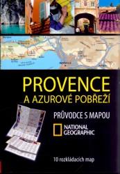 Provence a Azurové pobřeží - mapový průvodce