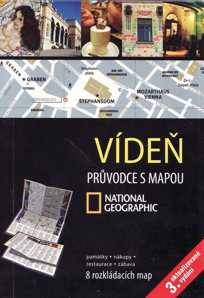 Vídeň - průvodce s mapou - 12x17 cm