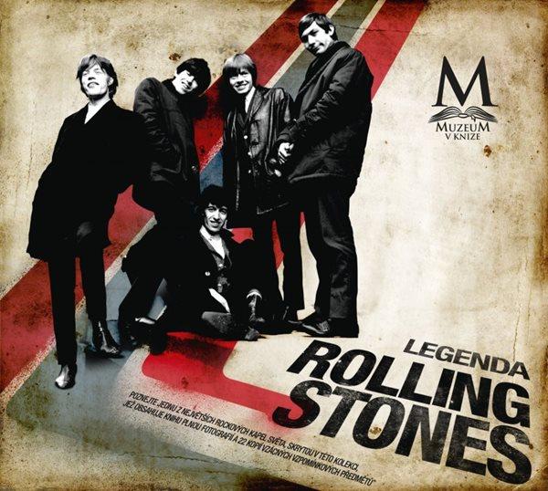 Legenda Rolling Stones - Glen Crouch - 29x25, Sleva 65%