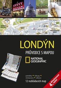Londýn Průvodce s mapou National Geographic