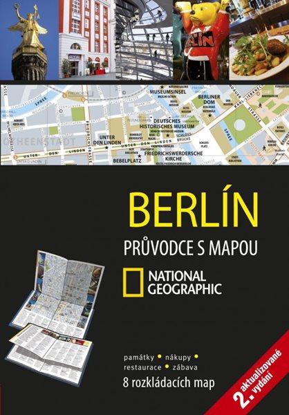 Berlín Průvodce s mapou National Geographic - 12x17 cm