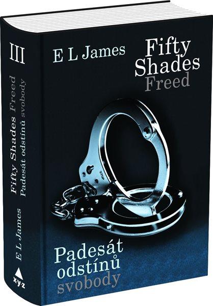 Fifty Shades Freed Padesát odstínů svobody - E L James - 15x21